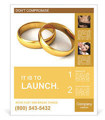 Wedding Poster Template Wedding Ring Poster Template U0026 Design Id 0000006624