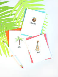 tropical stationery with mft sts damask