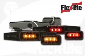 led truck marker lights truck lite touts flex lite led line