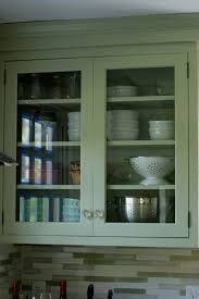 vintage kitchen glass cabinet greenvirals style