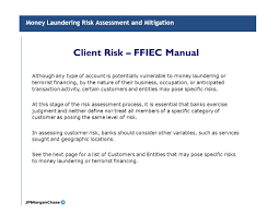 fdic examination manual line of business aml policies and procedures ppt video online