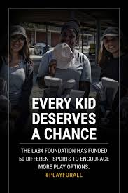 playforall join the movement with the la84 foundation la84