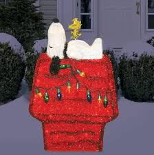 Peanuts Outdoor Christmas Decorations Snoopy Christmas Decor 92 The Peanuts Christmas Decorations
