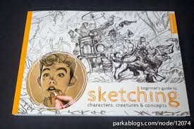 book review beginner u0027s guide to sketching characters creatures