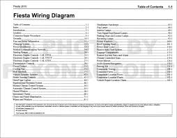 2011 ford fiesta service manual 2015 ford fiesta wiring diagram manual original