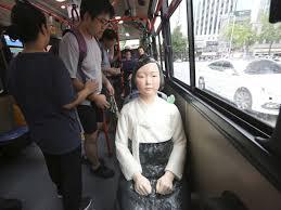 Japanese Comfort Women Stories Comfort Woman U0027 Memorial Statues A Thorn In Japan U0027s Side Now Sit