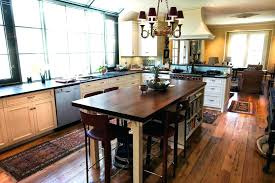 wood island kitchen wood island tops kitchen island tops size of rustic design