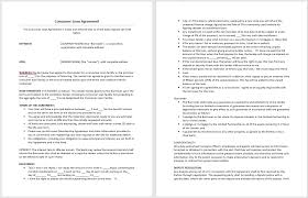 consumer loan agreement template u2013 microsoft word templates