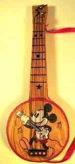 mickey mouse banjo ornament from our collection disney