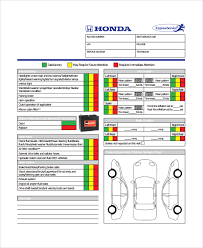 Vehicle Inspection Report Template Free by Sle Vehicle Inspection Checklist Template 10 Free Documents