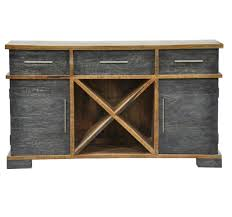 furniture rustic buffet table skinny storage cabinet china