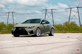 lexus rc or gs army green lexus rc f u0026 white gs f pose on custom rims 49 pics
