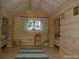 Maison En Bois Interieur Projet Est Maisons En Bois Massif Et écologiques Galerie