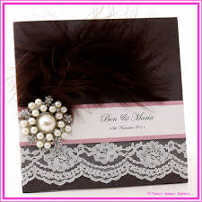 pearls are used in wedding cards 2013 trendy mods