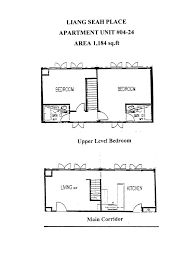 Bugis Junction Floor Plan by Liang Seah Place 04 24 Apartment For Rent Lease
