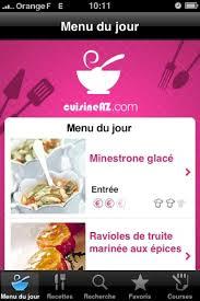 cuisinez de a z cuisine az une application iphone pour les gastronomes