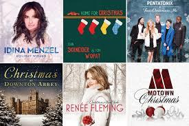 holiday music reviews seth macfarlane downton idina