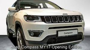 jeep cars white jeep compass my17 opening edition ht655614 pearl white