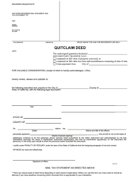 quit claim deed free download create edit fill and print