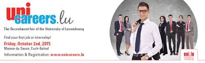 unicareers lu the unique recruitment fair of the of luxembourg 2nd richest country in the and 2nd highest wages