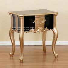 black and gold side table black and gold furniture black gold side table french furniture teak