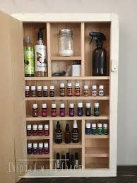 Nail Varnish Cabinet Amazing Essential Oil Storage Cabinet With Essential Oils Storage