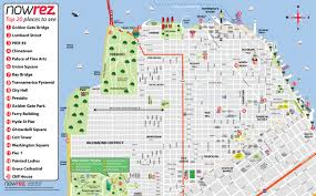 san francisco map san francisco map city sightseeing tours