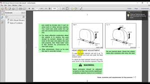 nissan murano z50 z51 2003 2010 service manual youtube