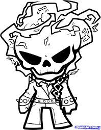 ghost rider coloring page boo in the zoo cut out ideas
