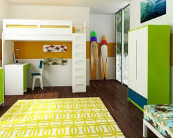 Modern Kid Bedroom Furniture Bedroom Modern Kids Bedroom With Yello Red And White Accents And