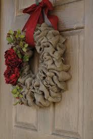 burlap christmas wreath awesome ways to burlap christmas decoration wreath happy