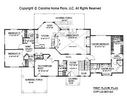 floorplan of a house large open floor house plan chp lg 2621 ga sq ft large open floor