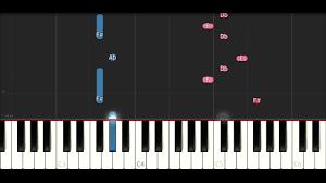 kodak black patty cake slow easy piano tutorial youtube