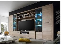 Led Beleuchtung Wohnzimmerschrank Wohnwand Eiche Sonoma Mit Led Beleuchtung Woody 61 00189 Woody Möbel