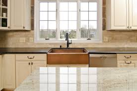 kitchen travertine backsplash travertine backsplash tile kitchen traditional with antique brown
