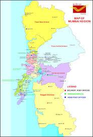 Mumbai Map Mumbai Postal Region