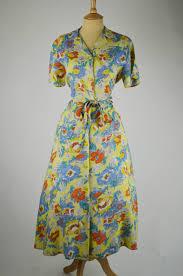 1940s Dresses Original Vintage 40s Dresses At Mela Mela Vintage