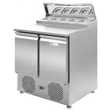 commercial pizza prep tables telescoping hood 2 door commercial pizza prep tables tt sl900dr2k s1