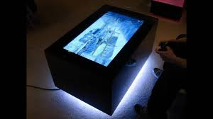 Coffee Tables With Led Lights Coffee Table Led Coffee Table Diy Arduino With Lights Luminous