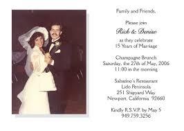 15th wedding anniversary invitation style 2 sle g