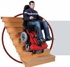 sedie per disabili per scendere scale top chair la carrozzina elettrica sale e scende le scale