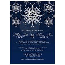 silver wedding invitations wedding invitation silver faux glitter snowflakes on midnight blue