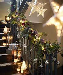 Christmas Banisters Christmas Flower Decorations Xmas Flower Arrangements M U0026s