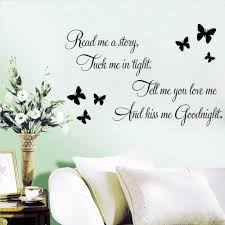 quote to decorate a room love quote wall art stickers decal diy home decoration wall mural