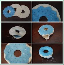 how to make felt donuts more felt food ted s
