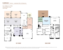 california floor plans southern preserve in la costa california west communities