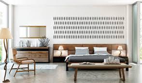 Modern Furniture Bedroom Sets Rondo Modern Walnut Bedroom Set