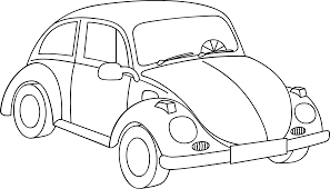 old volkswagen drawing cars u003c colouring pages edding funtastics