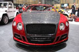 mansory to make the bentley 2013 bentley continental sanguis by mansory review top speed