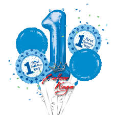 1st birthday boy 1st birthday boy bouquet balloon